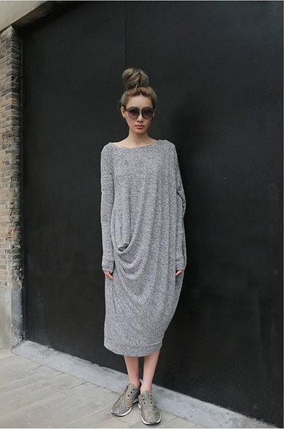 Plus Size Long T Shirt Dresses - Formal Dresses
