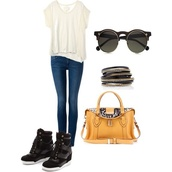 shoes,pretty little liars,jeans,shirt,sunglasses