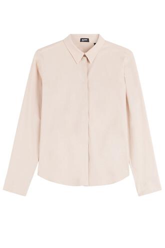 shirt cotton rose top