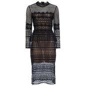 dress,black dress,lace dress,layered,fall outfits,fancy