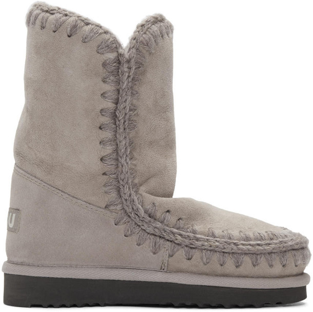Mou boots taupe 24 shoes