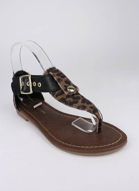 sandals flat brown shoes shoes