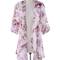 Aliexpress.com : buy kimono shirts women summer half sleeve women's blouses female boho beach blouse flower print long shirt chiffon blusa feminino from reliable shirt shelf suppliers on musheng co. ltd