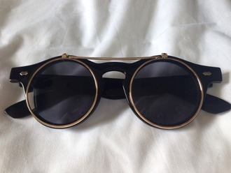 sunglasses hipster round rimmed