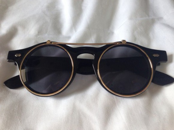 sunglasses round hipster rimmed