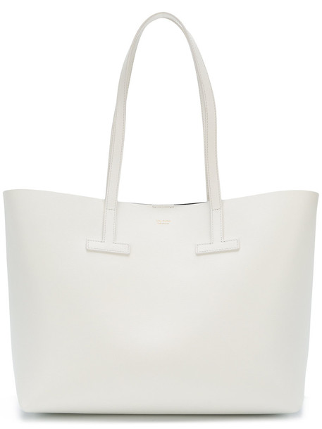 Tom Ford women leather white bag
