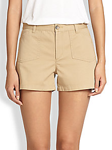 A.P.C. - Cotton Shorts - Saks Fifth Avenue Mobile
