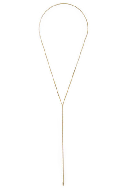 Saskia Diez necklace gold jewels