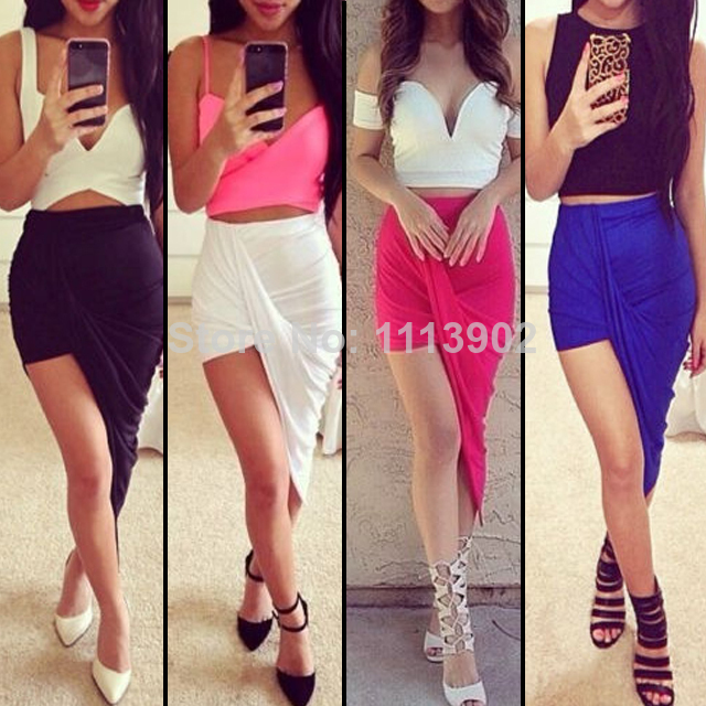 Aliexpress.com : buy asymmetrical skirt bodycon bandage woman long skirt celebrity summer new 2014 vintage womens party maxi skirt from reliable skirt type suppliers on hot seller fashion