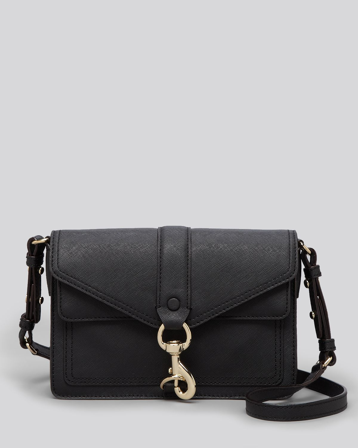 Rebecca Minkoff Crossbody - Hudson Moto Mini | Bloomingdale's