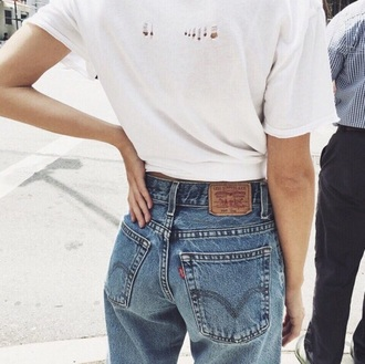 jeans levi's high waisted jeans grunge mom jeans blue jeans