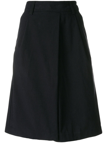 Margaret Howell skirt women cotton blue