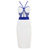 White & Blue Bandage Dress | Fashion Belleza | Swimwear - Apparel - Upscale Attire