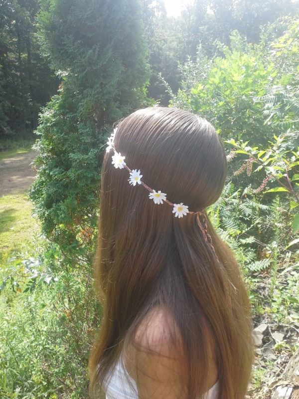 hair accessory flower crown