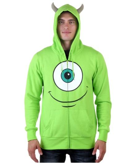 Monsters university mike hooded sweatshirt