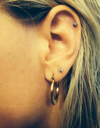 jewels alexis ren hoop flat gold jewelry alexis ren alexis reneg earrings hoop earrings