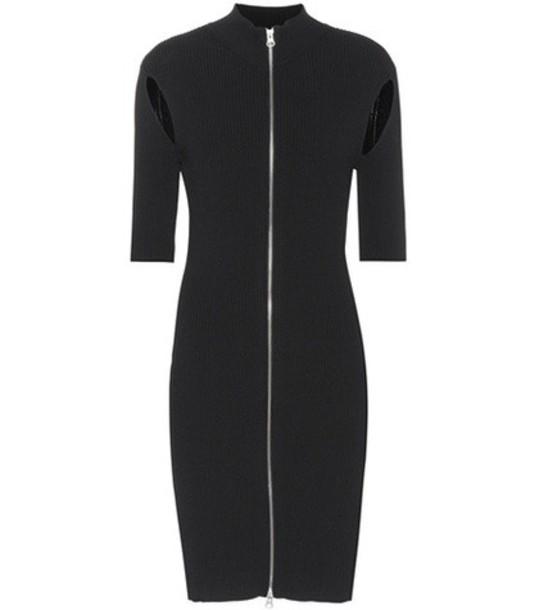 McQ Alexander McQueen dress jersey dress black