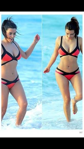 swimwear kim kardashian