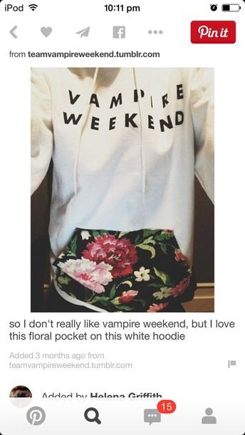 sweater vampire weekend hoodie