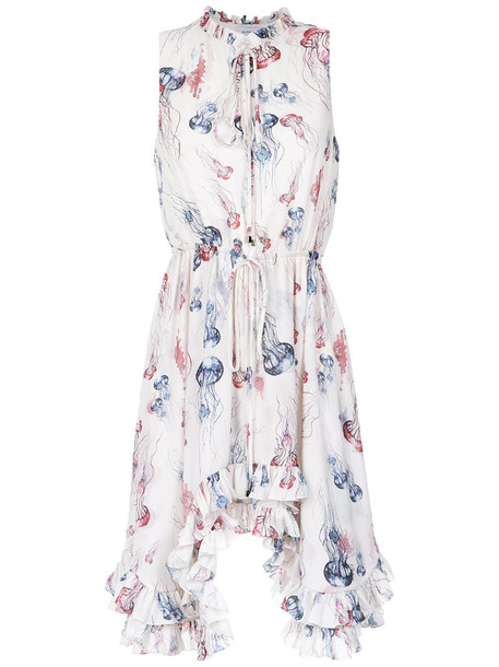 dress printed dress women