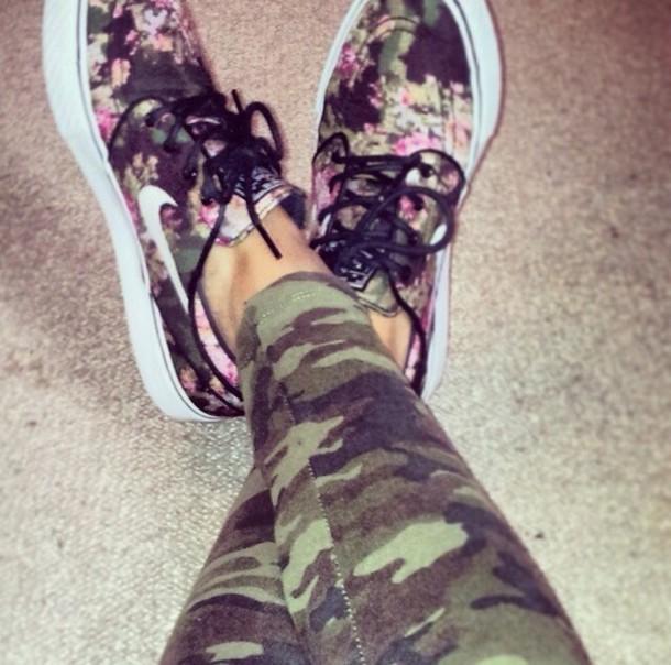 shoes nike floral janoskians jeans pants d4d78f459