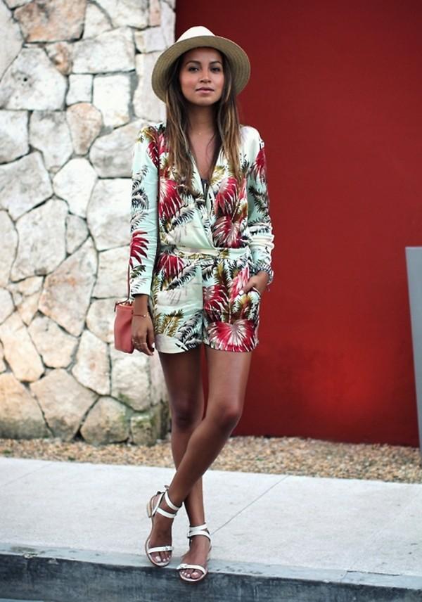 dress jumpsuit romper summer dress floral