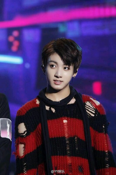 sweater kpop jungkook