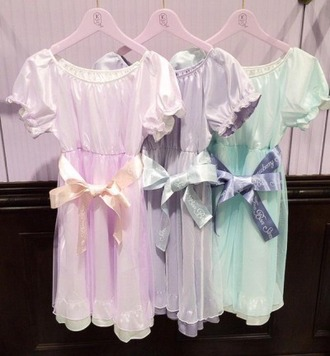 dress pastel pastel dress cute ribbon