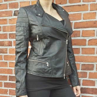 jacket black jacket black leather jacket biker jacket leather jacket quilted jackets black and grey copenhagen most dope leather jacket black silver biker rock cool black leather denmark given.dk interteam leather collection