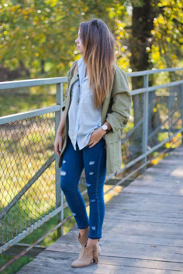 kolorowa dusza blogger jacket bag jewels