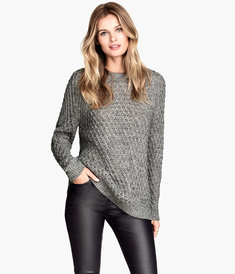 Knit sweater $19.95