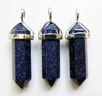 jewels blue pendant necklaces & pendants cristal