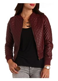 Search Results on 'moto jacket': Charlotte Russe
