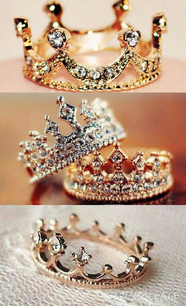 jewels crown ring