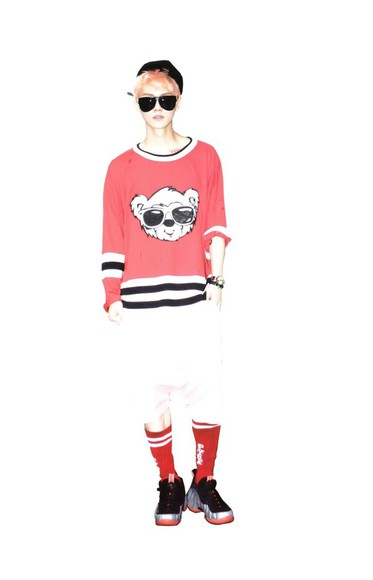 boy sunglasses korean korean fashion sweater K-pop luhan exo