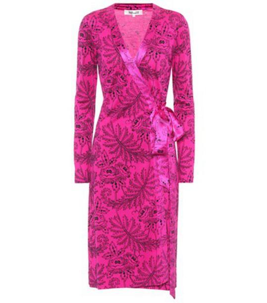 dress silk dress silk pink