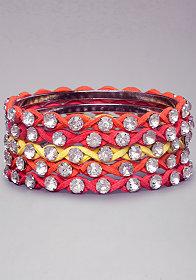bebe | Circle & Stone Bracelet - Jewelry - Bracelets
