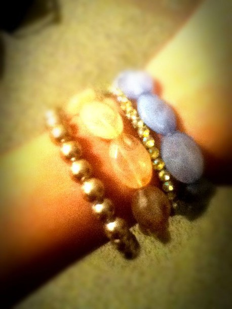 jewels blue pink bacelets pearl jewls classy