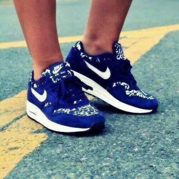 buy online d8035 4293c shoes air max nike air nike sneakers nike nike sweater air max air max blue  paisley