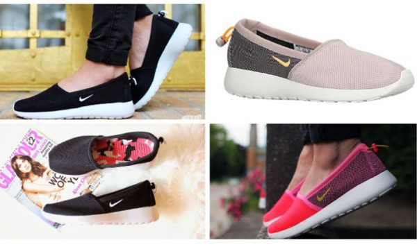roshe run slip on womens