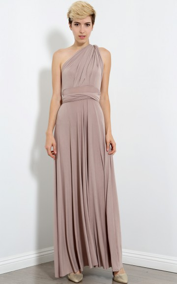 Multi Way Maxi Dress | MakeMeChic.com
