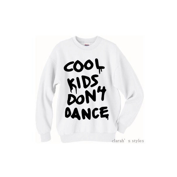 Cool Kids Don't Dance Zayn Malik Pull Over Sweater Crew Neck - Polyvore
