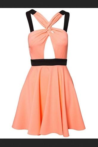 dress tonight romantic pink&black