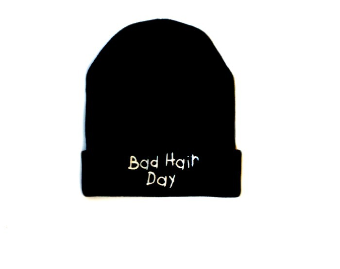 Bad hair day beanie  / urban ambra