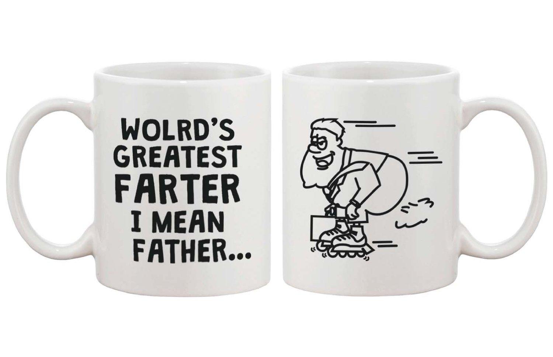 Funny Ceramic Coffee Mug For Dad World 39 S