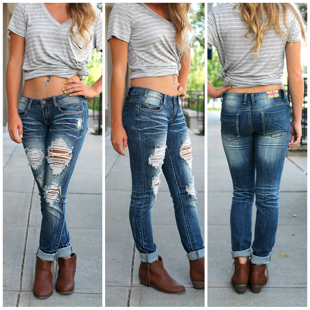 Denim Skinny Jeans | uoionline.com: Women's Clothing Boutique