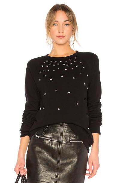 MICHAEL LAUREN sweatshirt black sweater