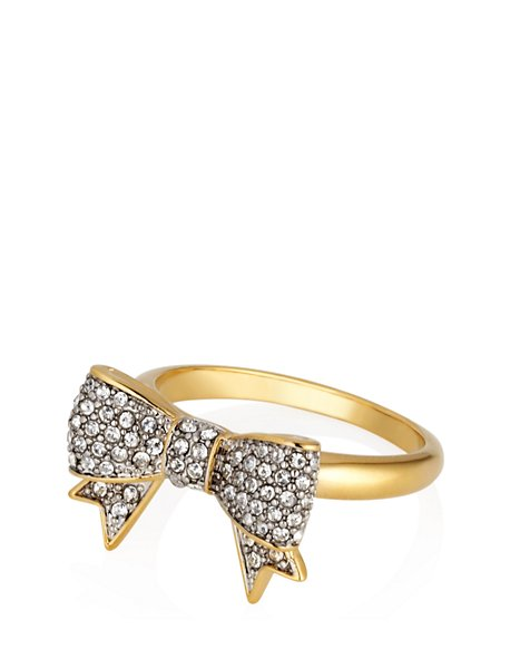 Pave Bow Ring - Jewelry & Accessories - Juicy Couture