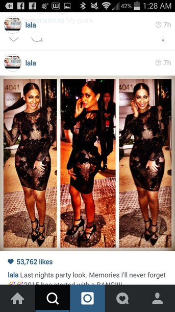 dress lala anthony