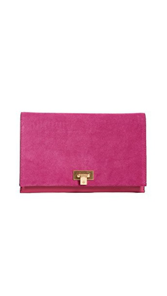 Tory Burch clutch suede bag